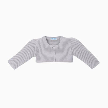 Grey Baby Short Knit Jacket