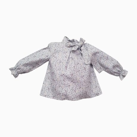 Baby Girl Print Squirrel Blouse