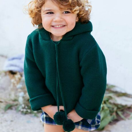 Boy's Duck Green Dot Jacket