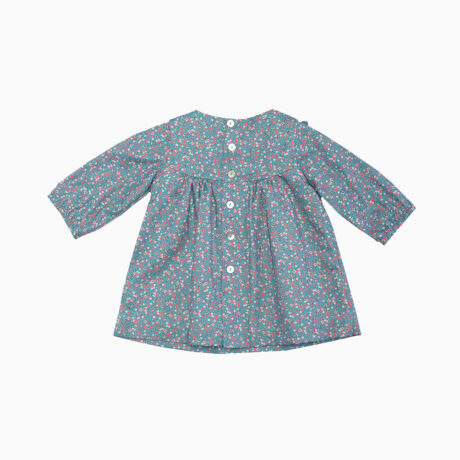 Baby Girl Dress Liberty Blue