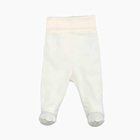 Baby Dungaree Organic Cotton Ecru