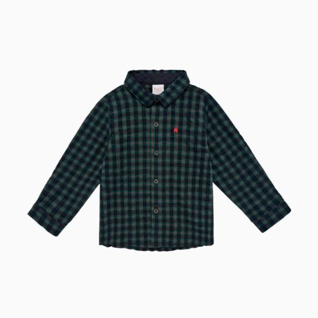 Andromeda Boy's Shirt Green