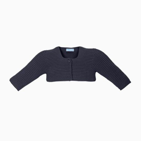 Marine Baby Short Knit Jacket