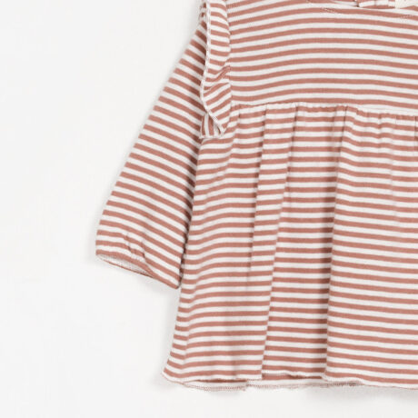 Baby Girl Cotton Blouse Cake Stripes