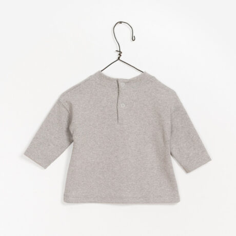 Grey Plush T-Shirt