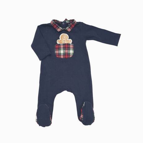 Baby Pajama Beak Neck Blue