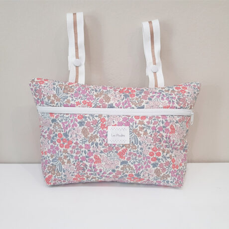 Trolley Bag Pocket Liberty Pink