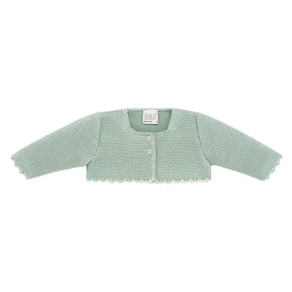 Provence baby short knitted cardigan