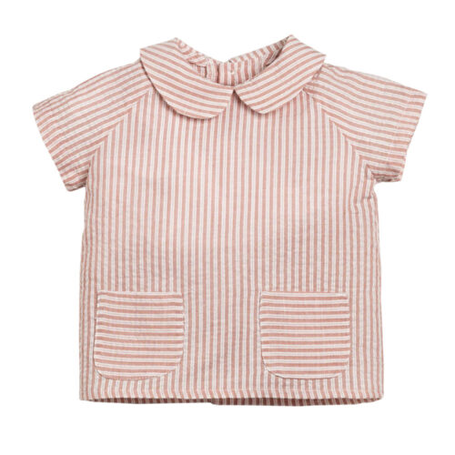 Stripped baby set