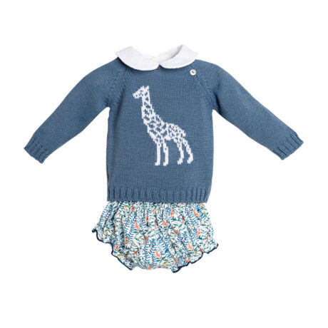 Animals baby knitted sweater