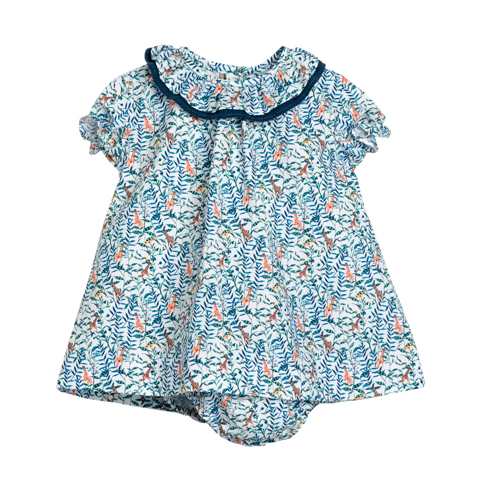 Animals jesusito baby dress